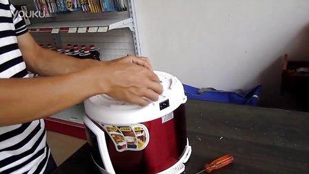 电压力锅外壳凹陷的简单处理办法