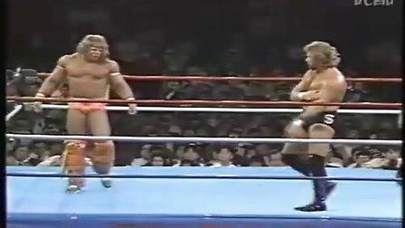 Ted Dibiase vs Ultimate Warrior ー  WWF世界重量級選手権