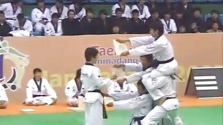 【侯韧杰 TKD 表演篇】之 高手会集体演出