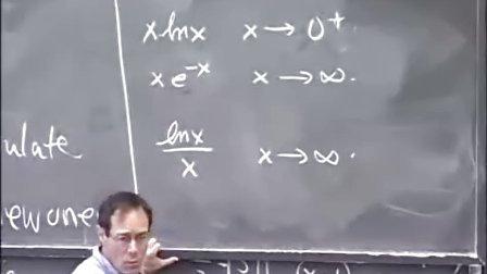 [单变量微积分:不定形式.-洛必达法则].Lecture.35