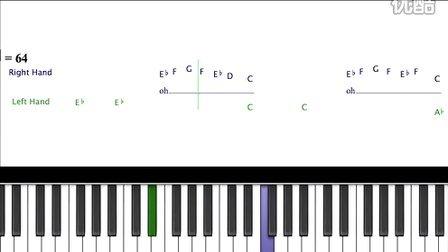 Baby - Justin Bieber 钢琴弹奏教程