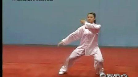 武术自选项目动作标准—太极拳(一)_标清