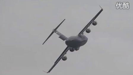 美国空军最新公布C17运输机坠毁前的瞬间