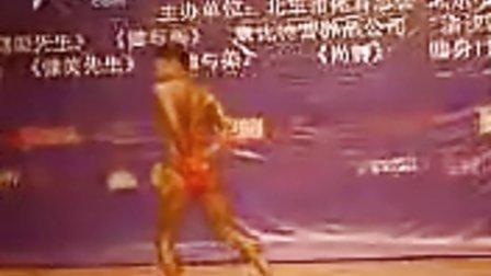 第二十八届女子健美比赛 个人展示 于杰