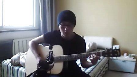 吉他原创弹唱《白色少年》