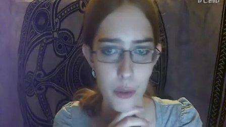 全美超模大赛第十五季选手Ann Ward在youtube上的视频Hello World