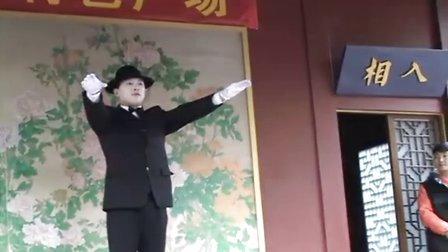 杭州城隍山上看热闹
