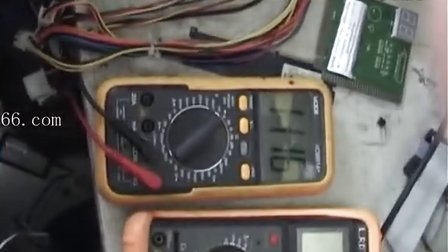 计算机维修教程 主板维修视频教程 CPU不工作故障案例-时钟问题
