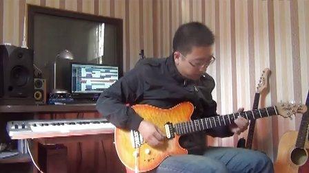 电吉他独奏  海阔天空