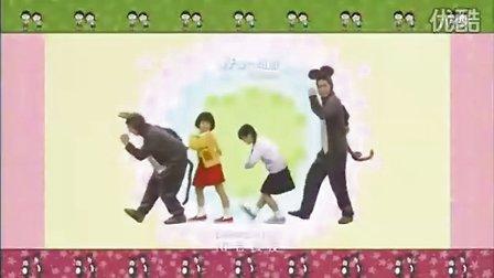 """真人版""""小丸子""""体操"""