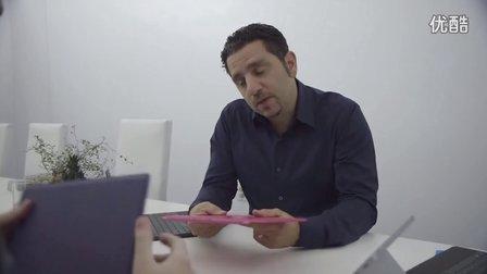 Surface副总裁Panos Panay谈论新款新一代Surface