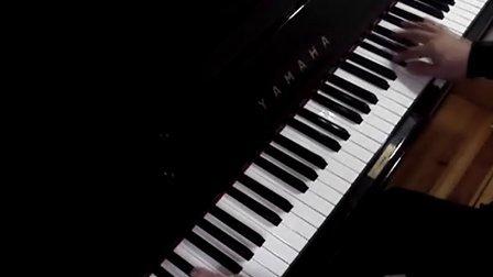 钢琴练习弹奏:班得瑞《初雪》_tan8.com