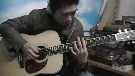 深蓝雨吉他独奏 黄昏