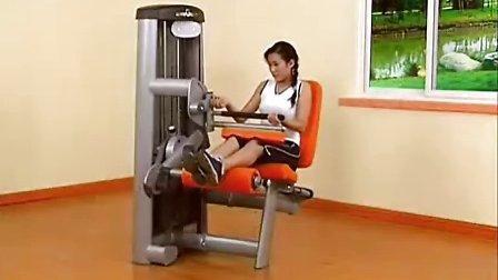 js-1106 坐姿后压腿训练器
