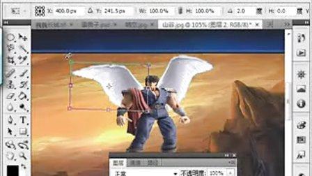 玩转PS 01图片合成练习