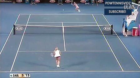 2008澳大利亚网球公开赛女单SF 莎拉波娃VS扬科维奇 HL