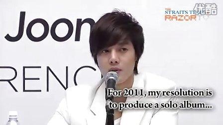 20101203 Kim Hyun Joong TFS Press Con P4 (Razor TV