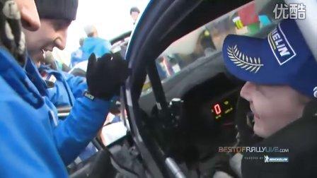 WRC2011 瑞典站赛后颁奖