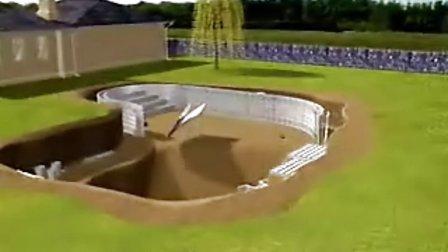 小型游泳池建造