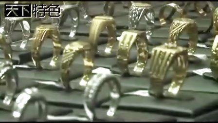 迪拜黄金市场 满街都是黄金