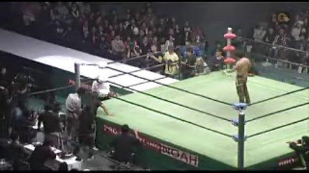 2010.12.05 NOAH 金丸義信 vs 鈴木鼓太郎 (GHC Jr)