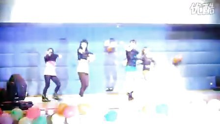 101027 暨大RG舞协成立party 09jazz:so excited