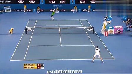 2011澳大利亚网球公开赛男单决赛 德约科维奇VS穆雷