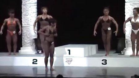 日本健美比赛 女子発表