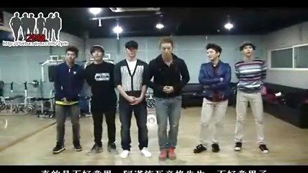【百度2PM组合吧】[中字]2PM I'll be back 舞蹈教学