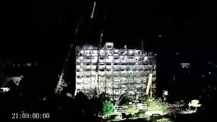 最牛的中国建筑工人,6天盖好十五层宾馆