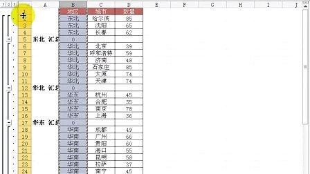 Excel疑难千寻千解丛书之Excel2010操作与技巧 疑难55 如何批量合并相同内容的单元格