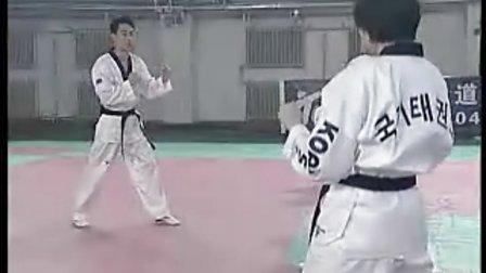 央视跆拳道中文教学09