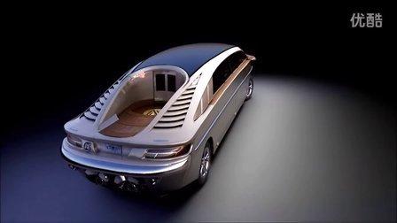 【潘多拉游艇】最奢華 最完美 的兩栖商務車方案誕生