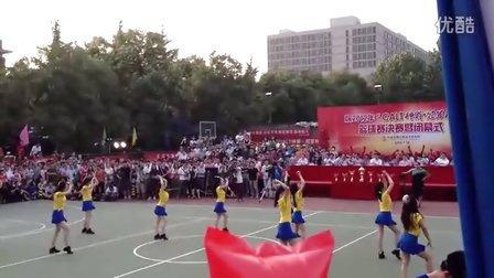"""2012年航天一院""""神箭冠军杯""""篮球赛决赛  一部拉拉队表演"""