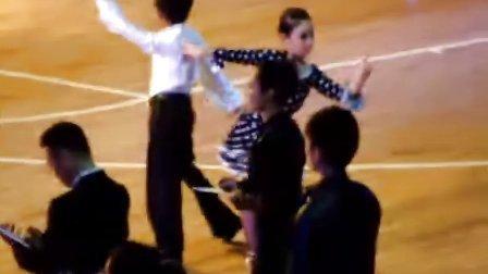2010年第九届南京都市圈全国体育舞蹈公开赛--济宁金牛拉丁(张家豪、李其格)