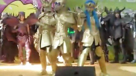 2010动漫节圣斗士星矢COS表演02