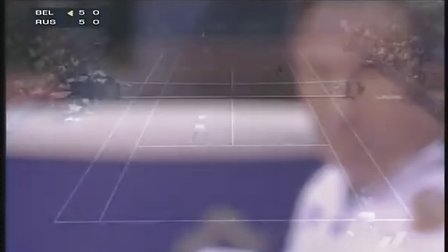 联合会杯双打 小克海宁2006 Fed Cup R1 Doubles part2.