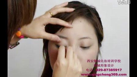 彩妆化妆教学小烟熏妆1