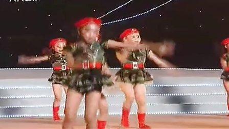 儿童舞蹈 跳舞视频-兵娃娃 娃娃兵