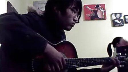 指弹吉他周杰伦〈彩虹〉焦作滚石琴行吉他培训教室