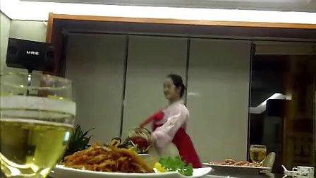 丹东金刚山饭店,朝鲜美女服务员