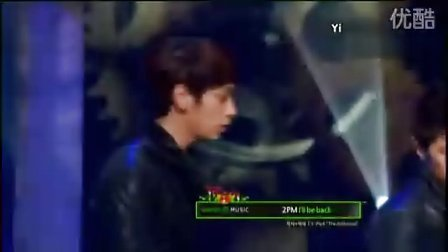 101225 MBC音乐中心 2PM-Without U  I'll be back现场版
