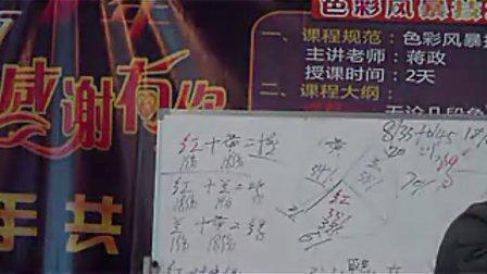2010年11月蒋政老师色彩风暴课程8 蒋政染发调配方法和多段发色