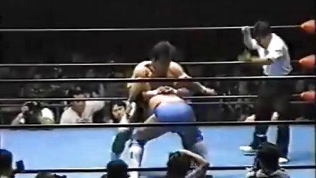 1997.05.27 全日本摔角 三沢光晴 vs 秋山準