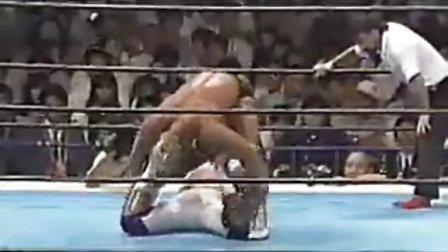 Chono Masahiro vs Steve Austin (1992)