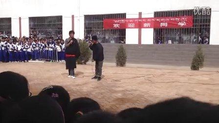 藏语小品   黄南州名族高中13年高三《2》班
