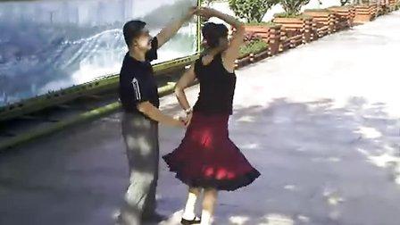 石家庄市桥西区西青公园 闻华交谊舞 吉特帕