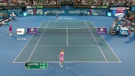 2011WTA悉尼决赛 李娜VS克里斯特尔斯