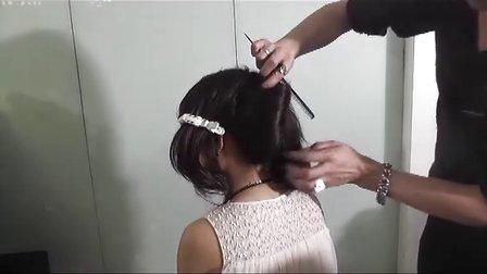 美发剪发-流行烫发-发型师-造型师-化妆师视频教程之12