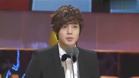 20101230 MBC Award Received Speech